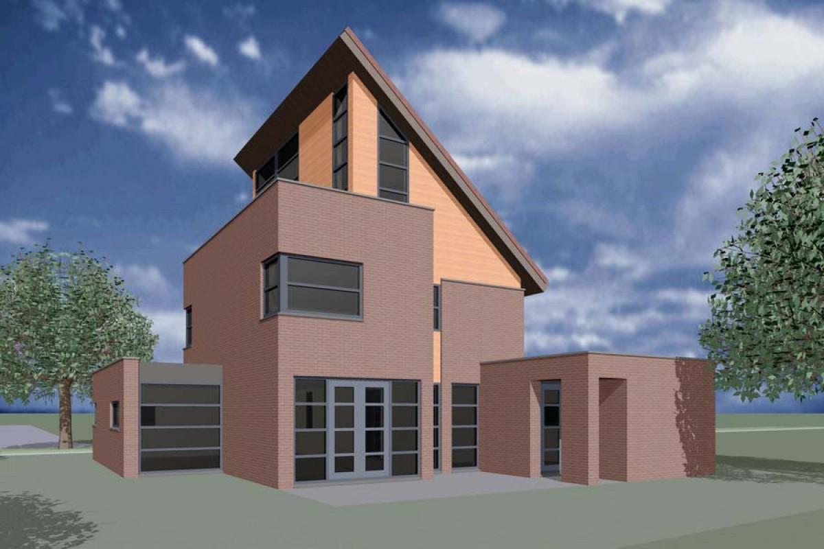woning ongebouwd