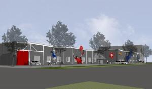 herhuisvesting Squash- en Fitnesscentrum Esrein25 te Hengelo