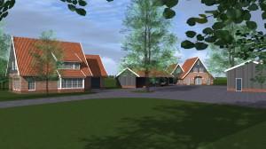 BLM Architecten Enschede foto van project woningen Kolenbranderweg te Haaksbergen