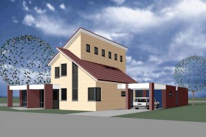 BLM Architecten Enschede foto van project woning diekman es te enschede