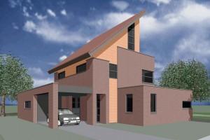 BLM Architecten Enschede foto van project woning ongebouwd