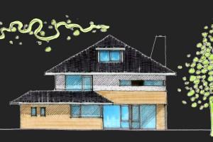 BLM Architecten Enschede foto van project woning het brunink te enschede