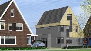 BLM Architecten Enschede foto van project woningen De Groene Tuinen te Driebergen
