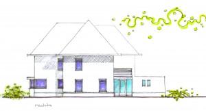 BLM Architecten Enschede foto van project woning Vossenbeldstraat te Wierden