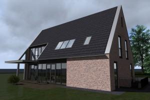BLM Architecten Enschede foto van project woning Kolenbranderweg te Haaksbergen