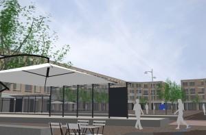 renovatie winkelcentrum 'De Loper' te Vlaardingen