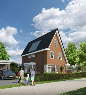 BLM Architecten Enschede foto van project 8 WarmteWinWoningen De Groene Tuinen te Driebergen