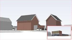 BLM Architecten Enschede foto van project herontwikkeling locatie Huiskes-Kokkeler te Haaksbergen