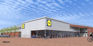studie revitalisering gevel winkelcentrum 't Rond te Winschoten