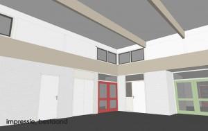 BLM Architecten Enschede foto van project herbestemming voormalig basisschool De Hooiberg te borne