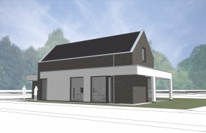 BLM Architecten Enschede foto van project woning Gruttostraat te Haakbergen