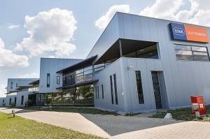 BLM Architecten Enschede foto van project bedrijfshuisvesting Electromach te Hengelo