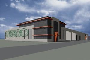 BLM Architecten Enschede foto van project bedrijfshuisvesting etnl te almelo