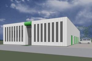 BLM Architecten Enschede foto van project bedrijfshuisvesting schlepers te goor