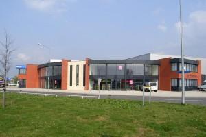 BLM Architecten Enschede foto van project bedrijfsverzamelgebouw bornsestraat te almelo