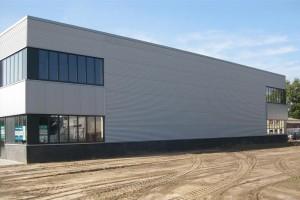 BLM Architecten Enschede foto van project bedrijfsverzamelgebouw te hengelo