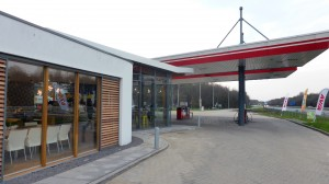 BLM Architecten Enschede foto van project herontwikkeling AVIA tankstation Lonnekermeer te Hengelo