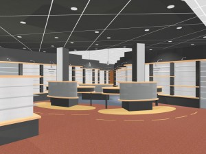 BLM Architecten Enschede foto van project interieur apotheek jassies te enschede