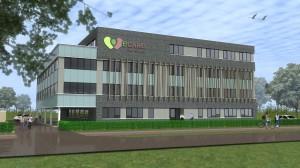 BLM Architecten Enschede foto van project kantoorgebouw Ecare Kennispark te Enschede