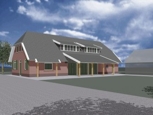 BLM Architecten Enschede foto van project educatiecentrum kinderboerderij dondertman te holten