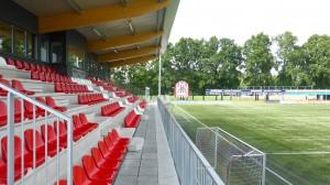 BLM Architecten Enschede foto van project kleedaccommodatie v.v. Rigterbleek te Enschede