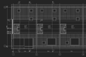 BLM Architecten Enschede foto van project negen woningen te apeldoorn