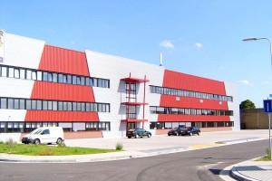 BLM Architecten Enschede foto van project renovatie bedrijfsverzamelgebouw te hengelo
