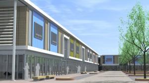 renovatie woonboulevard Hoogstad te Vlaardingen