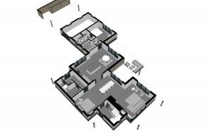 BLM Architecten Enschede foto van project renovatie / uitbreiding woning Lonneker