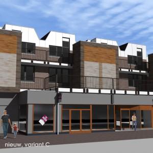 BLM Architecten Enschede foto van project revitalisering & herstructurering winkelcentrum Stadsweiden te Harderwijk