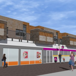 revitalisering & herstructurering winkelcentrum Stadsweiden te Harderwijk