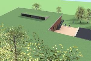 BLM Architecten Enschede foto van project scoutinggebouw gelregroep te twello