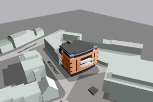 BLM Architecten Enschede foto van project studentenhuisvesting te hengelo
