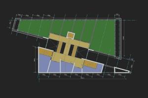 BLM Architecten Enschede foto van project studie mobiliteitscentrum te hengelo
