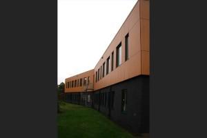 BLM Architecten Enschede foto van project uitbreiding kantoorpand te enschede