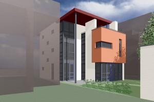 BLM Architecten Enschede foto van project woning ongebouwd te almere